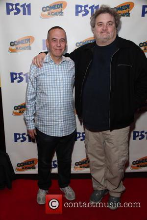 Gilbert Gottfried and Artie Lange