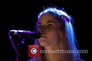 Hannah Reid - BRIT-nominated band London Grammar performing live on stage headlining at the O2 ABC in Glasgow - Glasgow,...