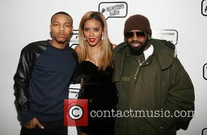 Bow Wow, Angela Simmons and Jermaine Dupri - Mercedes-Benz New York Fashion Week Fall/Winter 2014 - Angela IAM - Arrivals...
