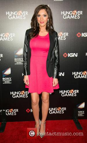 Farrah Abraham - Premiere of 'The Hungover Games' held at TCL Chinese 6 Theatres - Arrivals - Los Angeles, California,...
