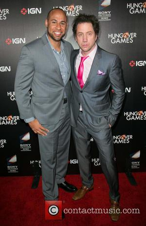 Hank Baskett and Jamie Kennedy