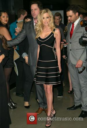 Jamie Kennedy and Camille Grammer