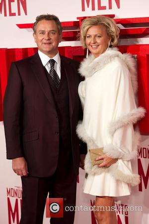 Hugh Bonneville and Lulu Williams - U.K.premiere of 'The Monuments Men' held at the Odeon Leicester Square - Arrivals -...