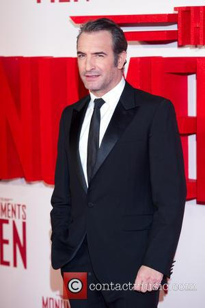 Jean Dujardin - U.K.premiere of 'The Monuments Men' held at the Odeon Leicester Square - Arrivals - London, United Kingdom...