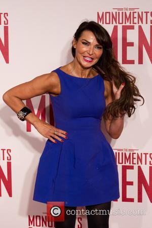 Lizzie Cundy - U.K.premiere of 'The Monuments Men' held at the Odeon Leicester Square - Arrivals - London, United Kingdom...