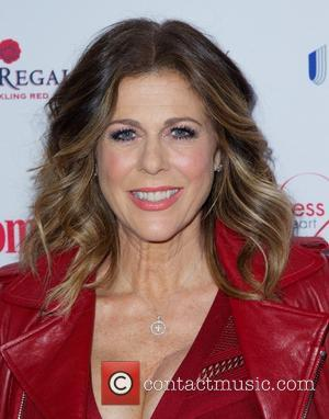 Rita Wilson and Rita Wilson - The 11th annual woman's day red dress awards at The Allen Room at Frederick...