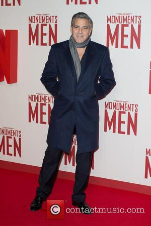 George Clooney - The UK Premiere of 'The Monuments Men'  held at the Odeon Leicester Square - Arrivals -...