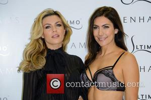 Abbey Clancy and Model