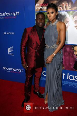 Kevin Hart and Eniko Parrish - The Pan African Film & Arts Festival Premiere Of