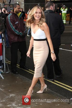 Amanda Holden - Britain's Got Talent auditions held at Hammersmith Apollo - Arrivals - London, United Kingdom - Tuesday 11th...