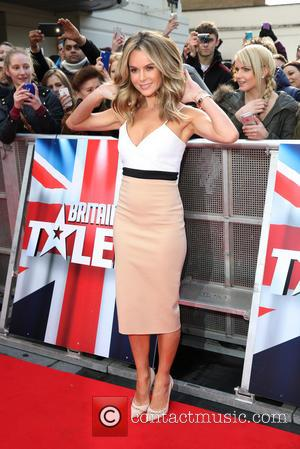 Amanda Holden - Britain's Got Talent London auditions held at the Hammersmith Apollo - Arrivals - London, United Kingdom -...