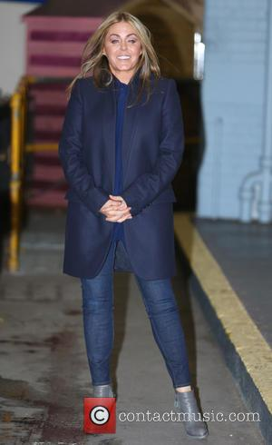 Patsy Kensit - Patsy Kenit outside ITV Studios - London, United Kingdom - Tuesday 11th February 2014
