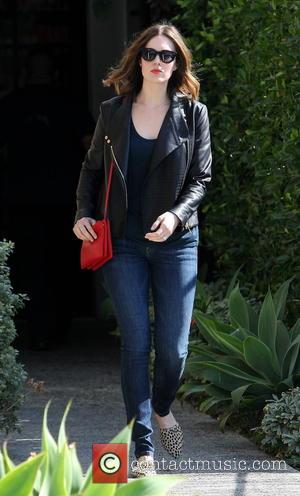 Mandy Moore - Mandy Moore leaving Andy LeCompte Salon - Los Angeles, California, United States - Tuesday 11th February 2014