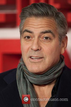George Clooney - Monuments Men premiere