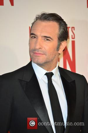 JEAN DUJARDIN - UK Film Premiere of 'The Monuments Men' held at the Odeon Leicester Square - Arrivals - London,...