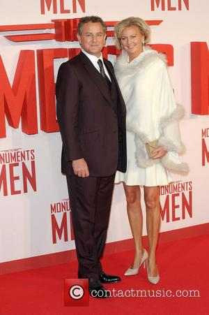 Hugh Bonneville - UK Film Premiere of 'The Monuments Men' held at the Odeon Leicester Square - Arrivals - London,...
