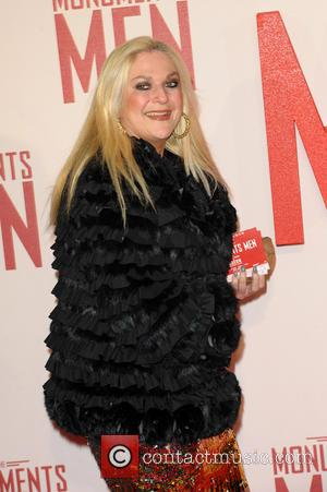 Vanessa Feltz - UK Film Premiere of 'The Monuments Men' held at the Odeon Leicester Square - Arrivals - London,...