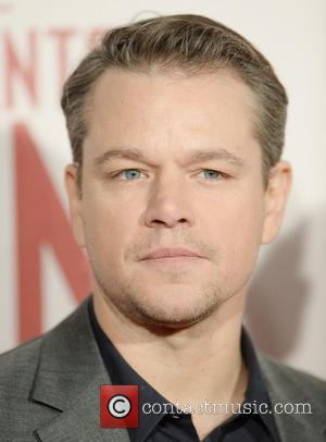 Matt Damon - U.K. film premiere of 'The Monuments Men'