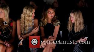 Katrina Bowden, Petra Němcová and Christine Teigen