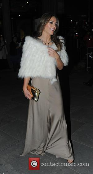 Elizabeth Hurley - The Portrait Gala 2014: Collecting to Inspire - fundraiser held at the National Portrait Gallery - Departures...