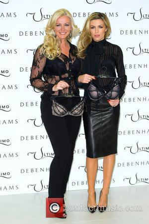 Abbey Clancy, Abbey Crouch and Michelle Mone