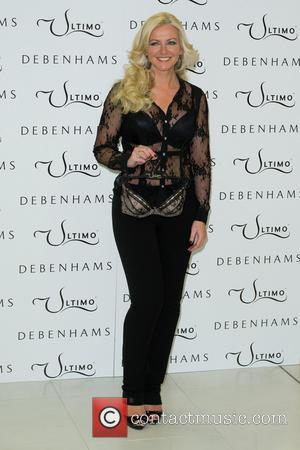 Michelle Mone - Ultimo Lingerie Photocall held at Debenhams - London, United Kingdom - Tuesday 11th February 2014