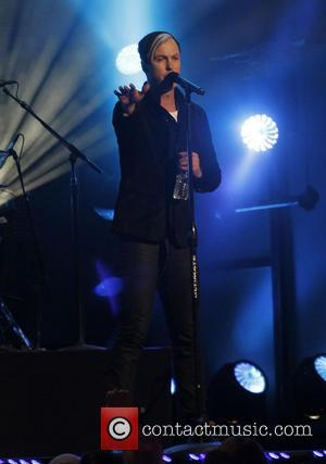 Fitz and the Tantrums - Fitz and the Tantrums perform on Jimmy Kimmel Live! in Hollywood - Los Angeles, California,...