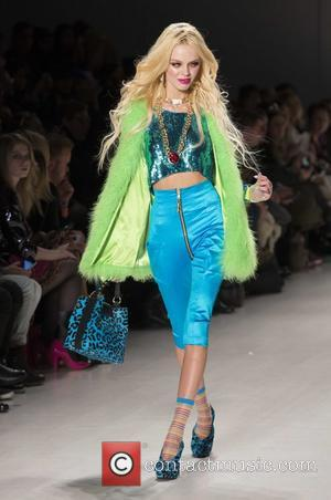 Model - Mercedes-Benz New York Fashion Week Fall/Winter 2014 - Betsey Johnson - Runway - New York City, New York,...