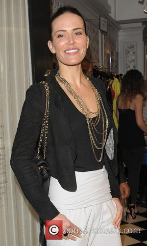Sophie Anderton - Petits Bisous Boutique party - Arrivals - London, United Kingdom - Thursday 13th February 2014