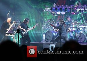 Dream Theater, John Myung, Jordan Rudess, John Petrucci and Mike Mangini