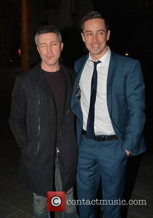 Aidan Gillen and Killian Scott