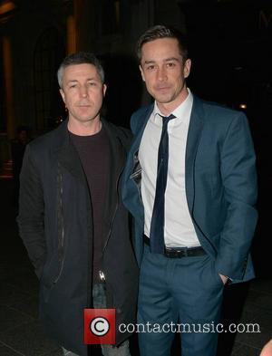 Aidan Gillen and Killian Scott - Guests arrive at the Jameson Dublin International Film Festival opening Gala premiere of 'Calvary'...