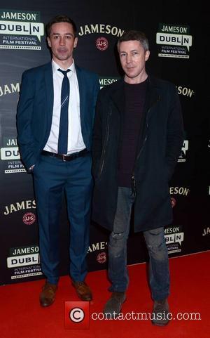 Killian Scott and Aidan Gillen