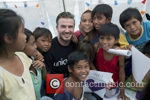 David Beckham and Philippines