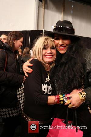 Betsey Johnson and Asa Soltan Rahmati - Mercedes-Benz New York Fashion Week Fall/Winter 2014 - Betsey Johnson - Runway -...