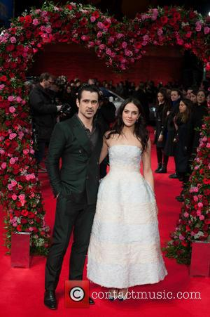 Colin Farrell and Jessica Brown Findlay - A New York Winter's Tale UK premiere held at the Odeon Kensington -...