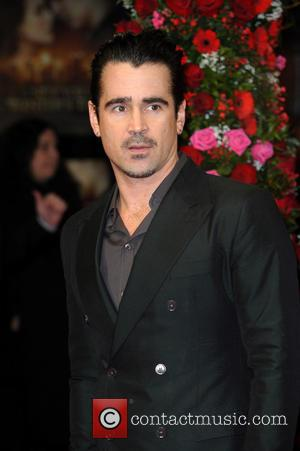 Colin Farrell - A New York Winter's Tale UK premiere held at the Odeon Kensington - Arrivals. - London, United...