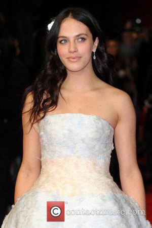 Jessica Brown Findlay - A New York Winter's Tale UK premiere held at the Odeon Kensington - Arrivals. - London,...