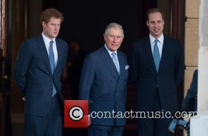 Prince Harry, William, The Duke Of Cambridge, Prince Charles and The Prince Of Wales