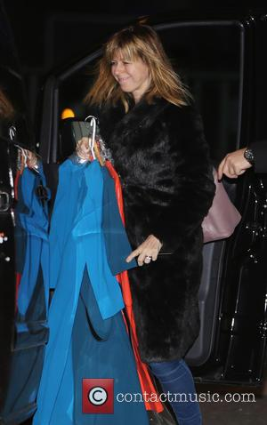 Kate Garraway - Kate Garraway outside ITV Studios - London, United Kingdom - Thursday 13th February 2014
