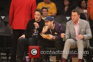 Joseph Gordon-Levitt - Celebrities at the Los Angeles Lakers v Oklahoma City Thunder NBA basketball game at the Staples Center....