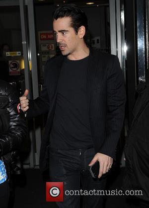 Colin Farrell - Colin Farrell leaves the BBC - London, United Kingdom - Friday 14th February 2014