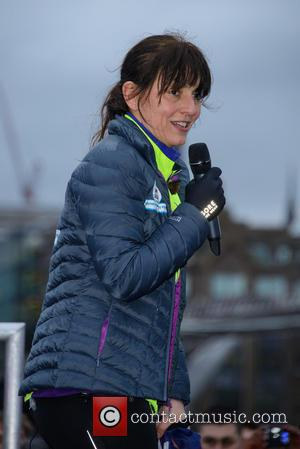 Davina McCall - Davina McCall's BT Sport Relief challenge: Beyond Breaking Point - Finish and Photocall - London, United Kingdom...
