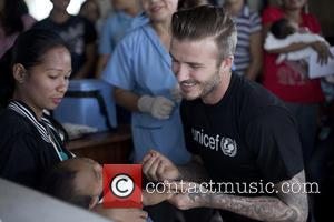David Beckham Launches Unicef Child Appeal