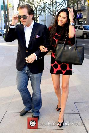 Michael Ohoven and Joyce Giraud - Joyce Giraud and husband Michael Ohoven out in Beverly Hills - Beverly Hills, California,...