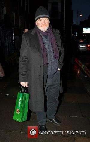 Brendan Gleeson - Celebrities outside The Merrion Hotel - Dublin, Ireland - Friday 14th February 2014