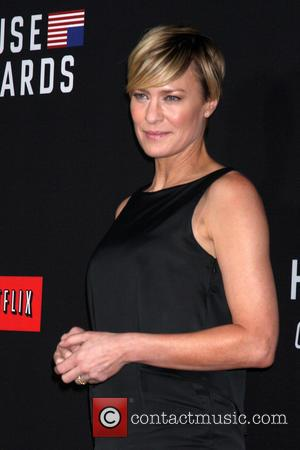 Robin Wright - House of Cards Season 2 Screening - Los Angeles, California, United States - Friday 14th February 2014
