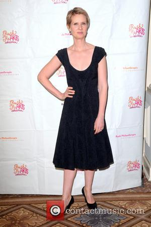 Cynthia Nixon - Rush HeARTS Education Luncheon - Red Carpet Arrivals - Manhattan, New York, United States - Friday 14th...