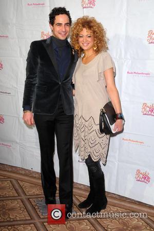 Zac Posen and Miri Ben-Ari - Rush HeARTS Education Luncheon - Red Carpet Arrivals - Manhattan, New York, United States...