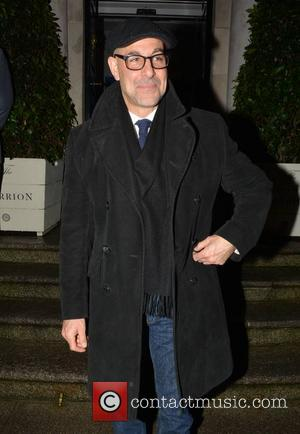 Stanley Tucci - Hollywood actor Stanley Tucci at The Merrion Hotel - Dublin, Ireland - Friday 14th February 2014